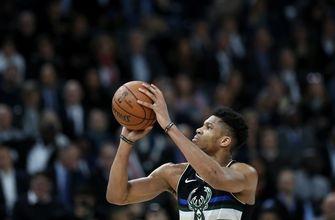 Antetokounmpo helps NBA-leading Bucks beat Hornets in Paris