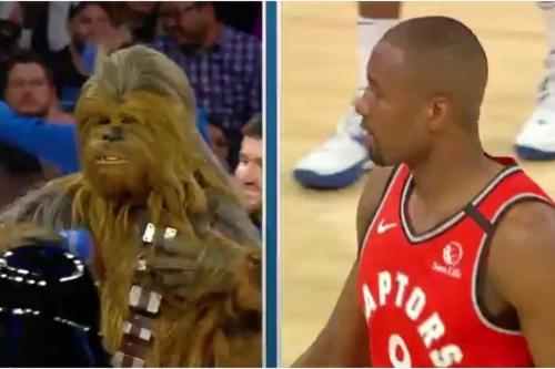 Raptors 118, Knicks 112 - Scenes from Luke Skywalker missing the exhaust port shot