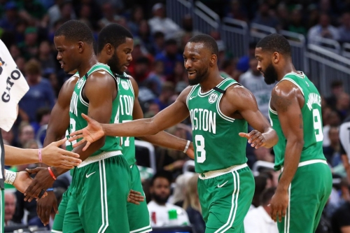 What a difference a year has made for the Boston Celtics