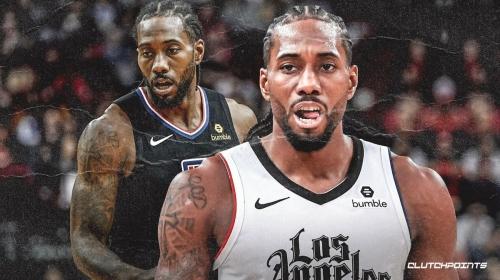 Clippers' Kawhi Leonard nabs first career triple-double
