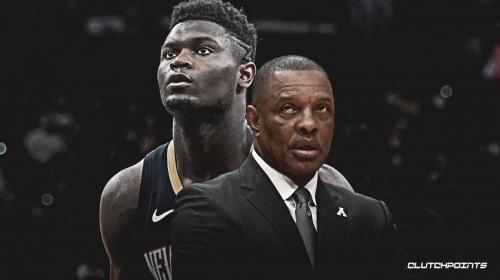 Pelicans coach Alvin Gentry reacts to fan criticism regarding Zion Williamson