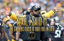 Podcast: The Steelers' glass is half full heading into 2020