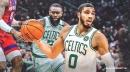 Celtics stars Jayson Tatum, Jaylen Brown questionable to face Pelicans