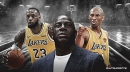 Magic Johnson reacts to LeBron James passing Kobe Bryant on all-time scoring list