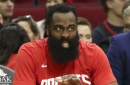 James Harden (thigh) OUT vs. Nuggets today, doubtful vs. Jazz tomorrow