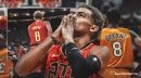 Hawks' Trae Young pays tribute to Kobe Bryant by wearing No. 8 against Wizards