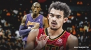 VIDEO: Hawks' Trae Young hits half-court buzzer-beater and dedicates it to Kobe Bryant