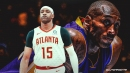 Vince Carter reacts to Kobe Bryant's tragic passing