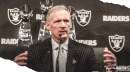 Raiders GM Mike Mayock talks pros and cons of taking WR in 1st round