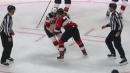 P.K. Subban and Brady Tkachuk brawl in heated tilt