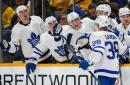 Rasmus Sandin's 1st career goal powers Maple Leafs past Predators