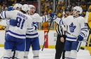 Rasmus Sandin and the Maple Leafs break out in Nashville — and finally solve Pekka Rinne