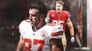 Chiefs' Travis Kelce sees similarities with George Kittle