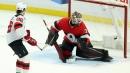 Jack Hughes secures shootout win, Devils edge Senators