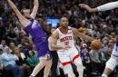 Rockets surprise Jazz behind Eric Gordon's 50 points