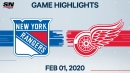 Lundqvist gets first shutout in two seasons as Rangers blank Red Wings