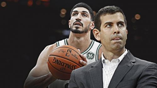 Celtics' Brad Stevens plays down concerns over Kemba Walker, Enes Kanter's injuries