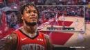 Rockets' Ben McLemore posterizes Jaxson Hayes
