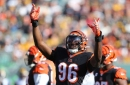 Carlos Dunlap could've done without Joe Buck's mention of Niners beating Bengals in 1989