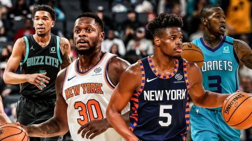 NBA trade rumors: Julius Randle, Dennis Smith Jr., Terry Rozier, Malik Monk names mentioned in trade talks between Knicks, Hornets