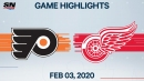 Elliott needs only 16 saves for shutout, Flyers blank Red Wings