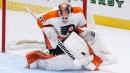 Elliott gets 40th shutout in Flyers' win over Red Wings