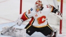 Flames' Cam Talbot amused fight puts him on cusp of hockey history
