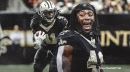 ESPN is anticipating a contract holdout for Saints RB Alvin Kamara