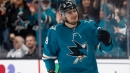 Meier's three points help Sharks double up Oilers