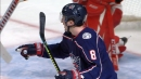 Werenski sets Blue Jackets franchise record with 17th goal of season