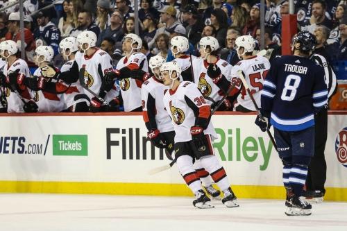 Game 55 Hub: Ottawa Senators @ Winnipeg Jets