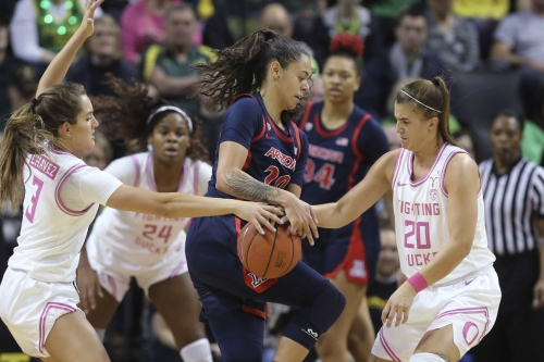 Arizona Wildcats the latest women's basketball team to get 'Oregon'd'; game with Beavers up next