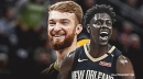 Jrue Holiday receives stitches after bumping heads with Domantas Sabonis