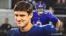 Giants' Daniel Jones is already back at work at Duke