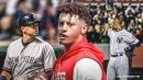 Chiefs' Patrick Mahomes explains how star baseball players impacted his sports career