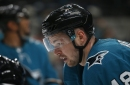 Sharks' Tomas Hertl discusses knee injury for first time