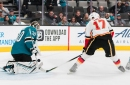 Calgary Flames Win 6-2 While Visiting The San Jose Sharks' Tank