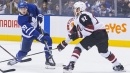NHL Live Tracker: Coyotes vs. Maple Leafs