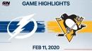 Yanni Gourde scores the overtime winner as Lightning beat Penguins
