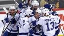 Gourde lifts Lightning over Penguins in OT for eighth straight win