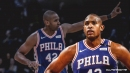 Sixers' Al Horford reacts to coming off bench for first time since rookie season