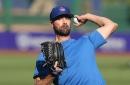 Cole Hamels dealing shoulder discomfort, will be re-evaluated in 3 weeks