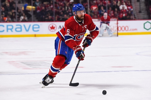 Montreal Canadiens Shea Weber Out with Sprained Ankle