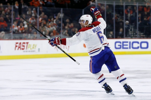 Habs star defenceman Shea Weber out 4 to 6 weeks with ankle injury