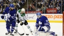 Maple Leafs fall to Stars in Andersen's return