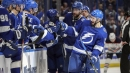 Lightning top Oilers for ninth straight victory