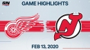 Simmonds scores twice as Devils defeat Red Wings
