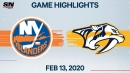 Smith and Saros lead Predators to win over Islanders