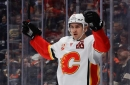Flames erupt for offensive explosion in shutout win against Ducks