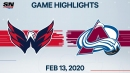 Oshie and Capitals rally to take down Avalanche